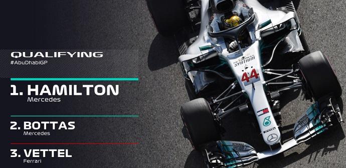 CRÓNICA: Hamilton culmina un año de martillo en sábados con Sainz 11º y Alonso 15º