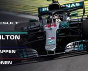 CRÓNICA: Hamilton 'O Rei' por obra y gracia de Ocon, Sainz y Alonso sin puntos