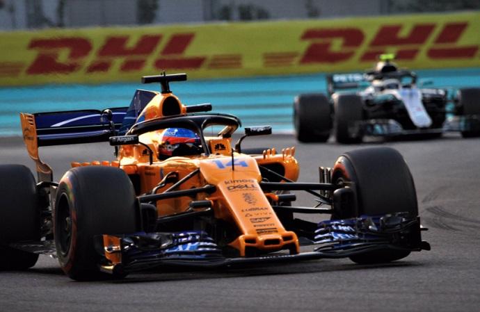 GP Abu Dabi 2018: Viernes de Mercedes y Red Bull a la par, vuelve Kubica con Alonso en 'modo adiós'