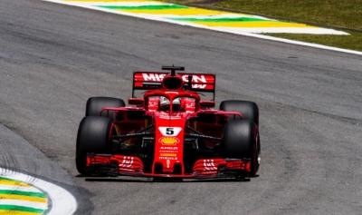 GP Brasil 2018-FP3: Vettel se postula para la 'pole' con Alonso y Sainz muy atrás