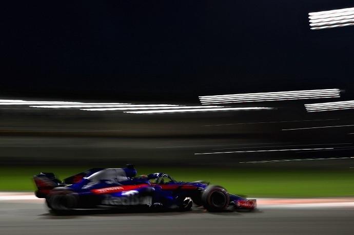 Sábado en Abu Dabi - Toro Rosso: a las primeras de cambio