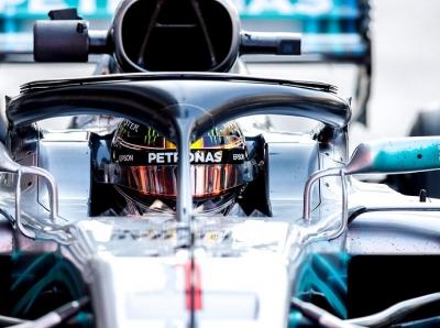 """Viernes en Abu Dabi - Mercedes: Bottas golpea primero, pero Lewis es el """"1"""""""