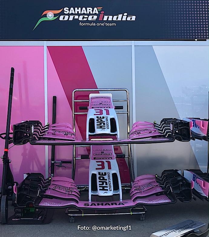 El nuevo nombre de Force India: Racing Point cambiará de nuevo en 2019