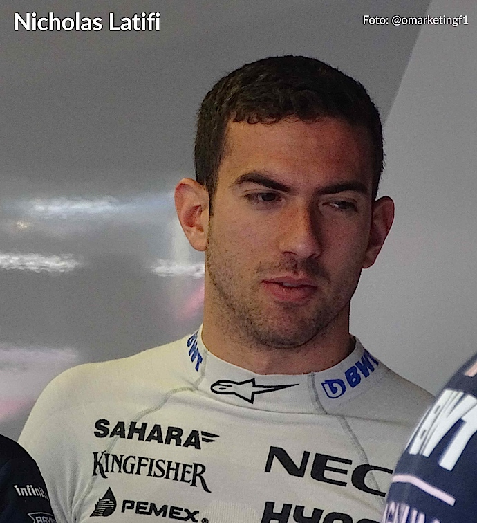 Williams confirma a Nicholas Latifi como piloto reserva 2019