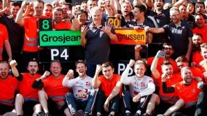 notas de la temporada Haas