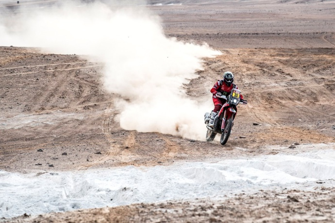Dakar 2019 Etapa 4: Arequipa-Moquegua (Brabec)