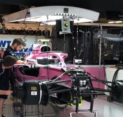 Racing Point anuncia asociación tecnológica con RNT Rausch GmbH