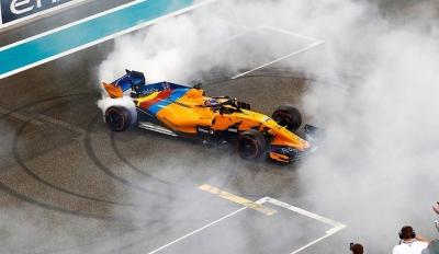 Retirada de Alonso, McLaren