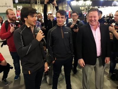 """Sainz preparado para el desafío McLaren: """"Hemos contratado gente muy importante para ser más fuertes"""""""