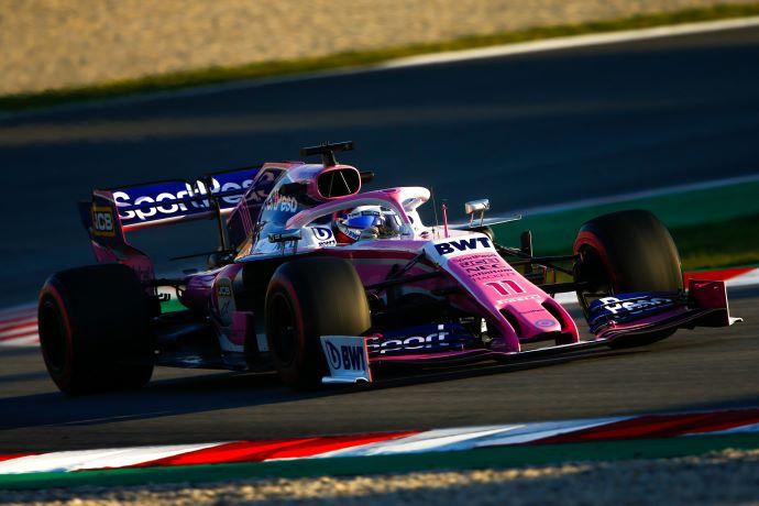 Test en Barcelona - Día 6 - Racing Point sigue mejorando y termina en 2º. Del clasificador