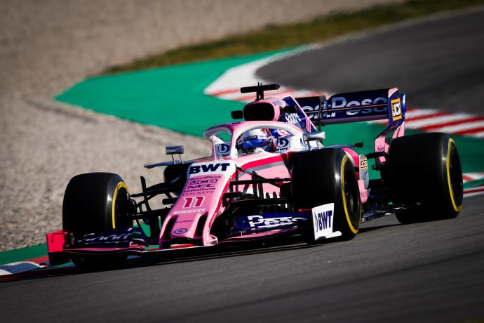 Test en Barcelona – Dia 1 – Racing Point debuta el RP19 con 30 vueltas en su 1er. contacto