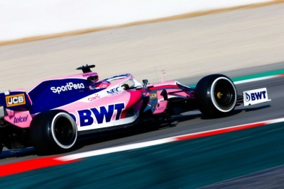 Test en Barcelona – Dia 2 – Racing Point debuta a Lance Stroll de rosa
