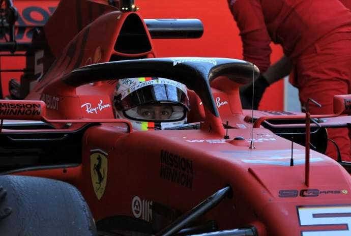 CRÓNICA- Test de Barcelona- Dia 1: Vettel domina con Sainz apretando fuerte