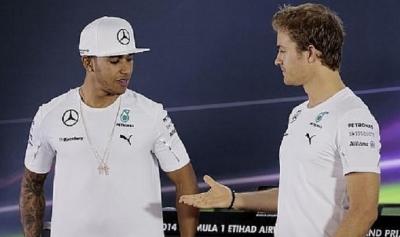 Hamilton perdería su motivación si no tiene el mejor coche, según Rosberg