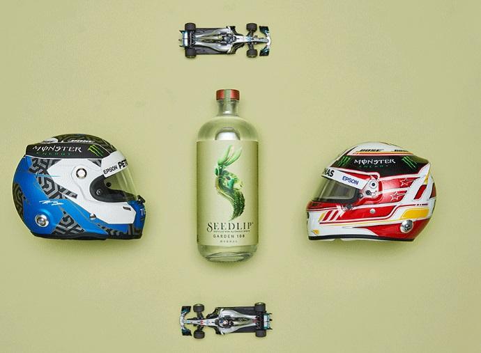 Mercedes anuncia un nuevo aliado: Seedlip, una marca de bebidas naturales