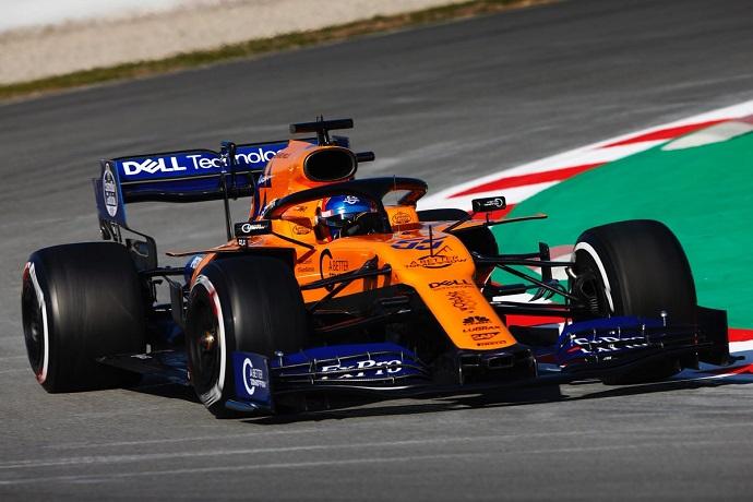 Test en Barcelona – Día 1 – McLaren: Sainz se estrena en tono positivo