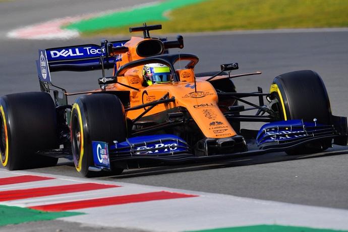 Test en Barcelona - Día 2 - McLaren: Norris también cumple en su debut