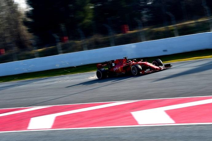 Test en Barcelona - Día 4 - Ferrari: Leclerc finaliza con un día sólido