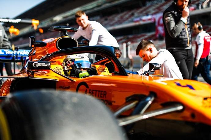 Test en Barcelona - Día 4 - McLaren cierra una gran primera semana