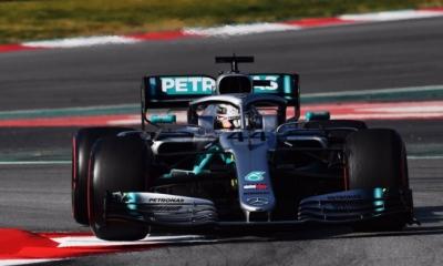 Test en Barcelona-Dia 4- Mercedes enseña media baraja entre más tandas largas