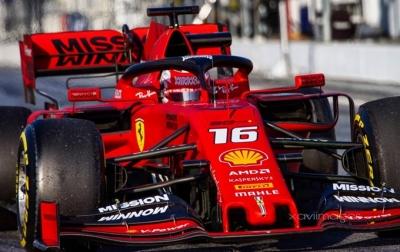 Test en Barcelona – Día 7 – Ferrari domina la tabla de tiempos con Leclerc
