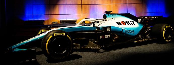 Williams se alia con ROKit para 2019: Así ha lucido el nuevo FW42