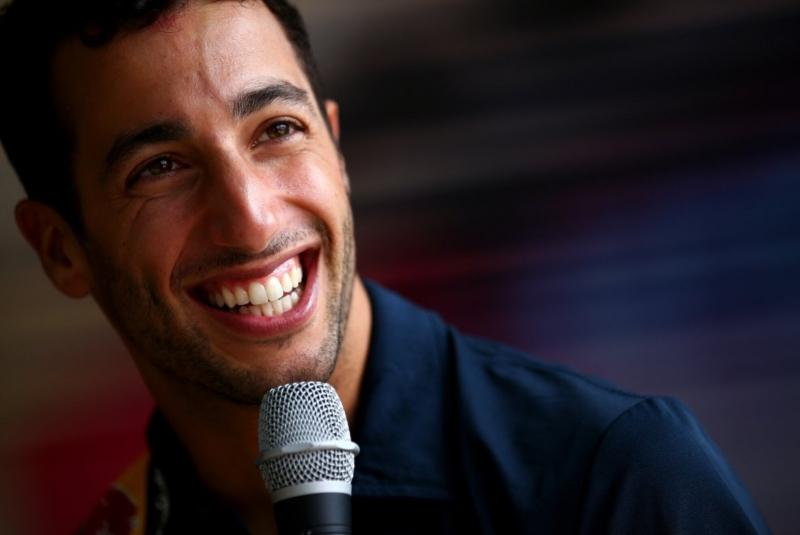 El humor de Ricciardo sigue intacto