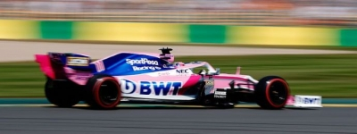 Sábado en Australia - Racing Point y Checo salpican de rosa la Q3