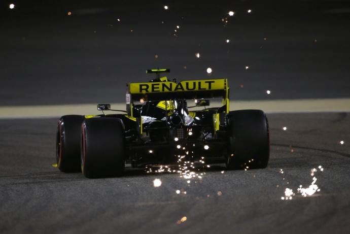 Sábado en Baréin - Renault: Día decepcionante para los de Enstone