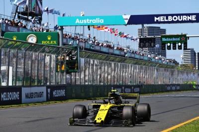 Viernes en Australia - Renault acaba la primera jornada con buenas sensaciones