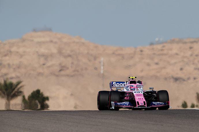 Viernes en Baréin – Racing Point contra viento y arena en el desierto de Sakhir