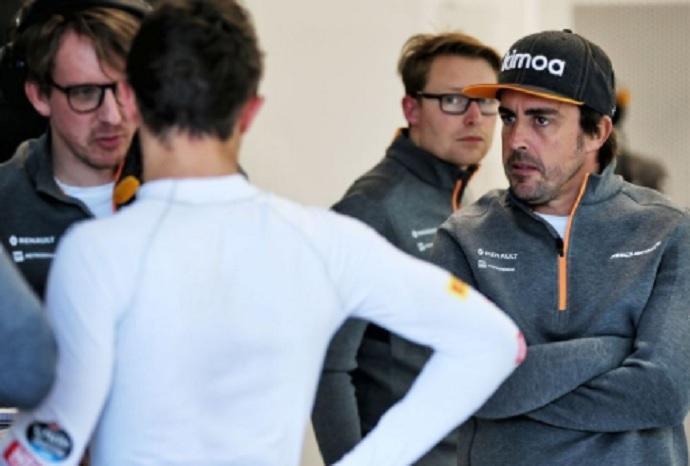 """Alonso, sorprendido parcialmente con Ferrari: """"En los test de 2018 fueron igual"""""""