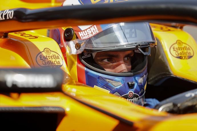 Carlos Sainz reconoce los avances del motor Renault, a pesar del resultado en Melbourne