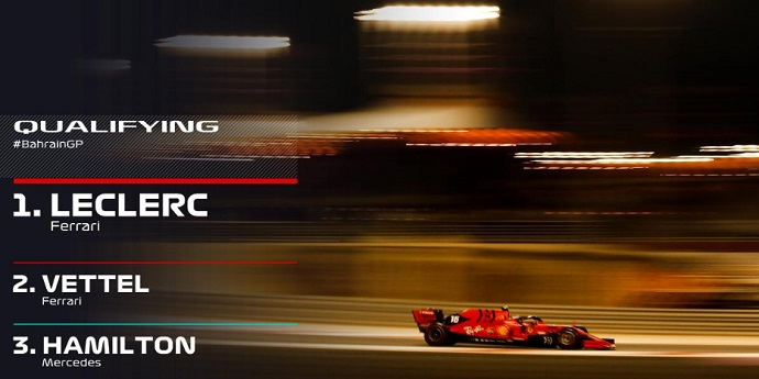 CRÓNICA: Espectacular 'pole' de Leclerc con Sainz 7º y Norris 10º