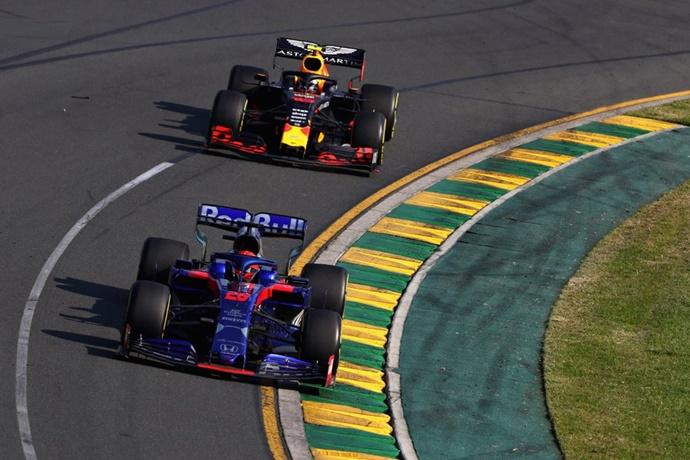 Domingo en Australia - Toro Rosso: Kvyat suma en su vuelta a la F1