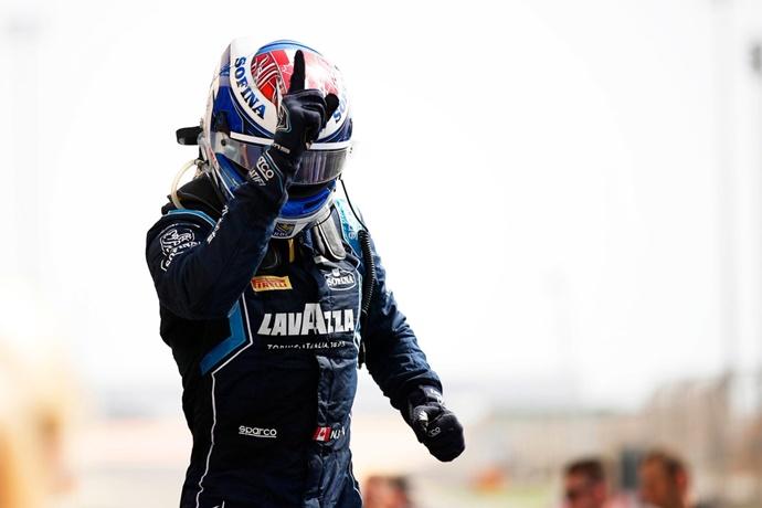 Latifi y DAMS se hacen con la victoria en la primera carrera de la temporada