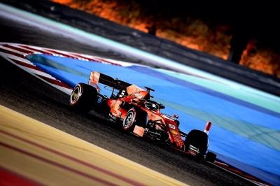 Sábado en Baréin - Ferrari: Leclerc hace historia; Vettel le acompaña
