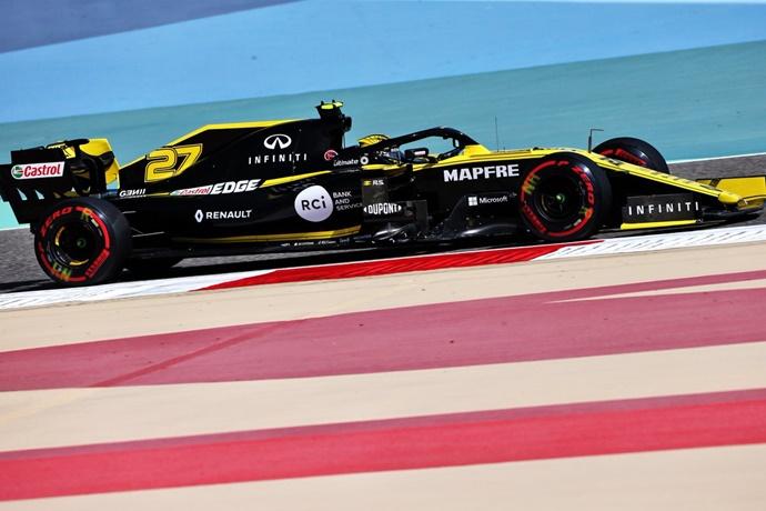 Viernes en Baréin - Renault y Hulkenberg se postulan como líderes de la zona media