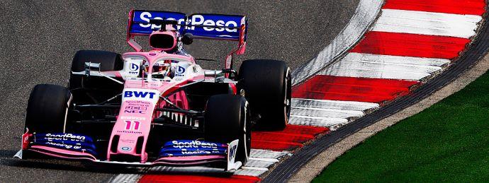 Viernes en China – Racing Point no encuentra el 'Shang' rosa en libres 1 y 2