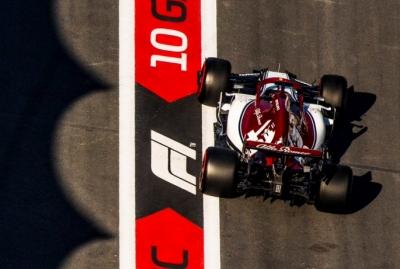 Domingo en Azerbaiyán - Alfa Romeo: Rescatan un punto después de un GP lleno de sanciones