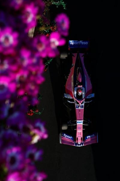 Domingo en Azerbaiyán - Racing Point el mejor del resto con doble puntuación en Bakú