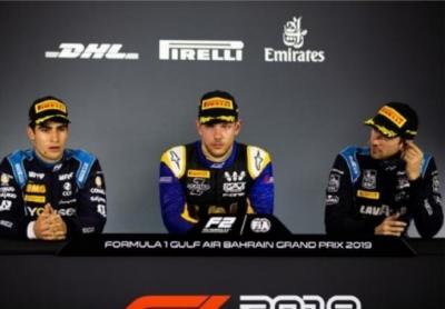 Luca Ghiotto se lleva la segunda carrera con remontada incluida