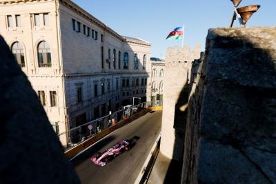Sábado en Azerbaiyán – Racing Point y Checo logran el 5º. mejor tiempo en Bakú