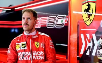 """Vettel no piensa en su retirada: """"Soy feliz cuando piloto"""""""