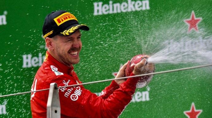 """Vettel """"se corona"""" como el piloto más rentable"""