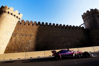 Viernes en Azerbaiyán - Racing Point cuesta arriba en prácticas incompletas de Bakú