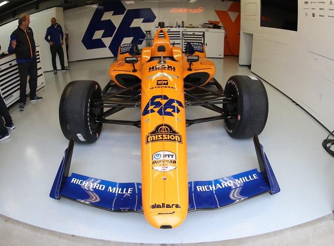 Alonso debuta con dudas en Indianápolis