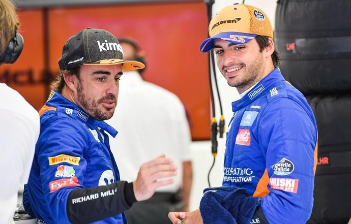 """Alonso: """"Si veo que Sainz gana este año dos carreras, me apetecería volver"""""""