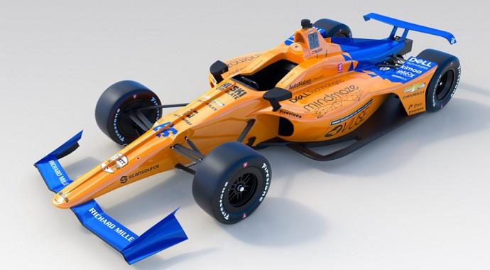 Así luce el McLaren #66, el arma de Alonso para luchar por la 'Triple Corona'