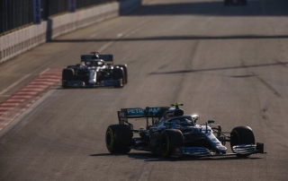 Domingo en Azerbaiyán - Mercedes: Siguen intratables
